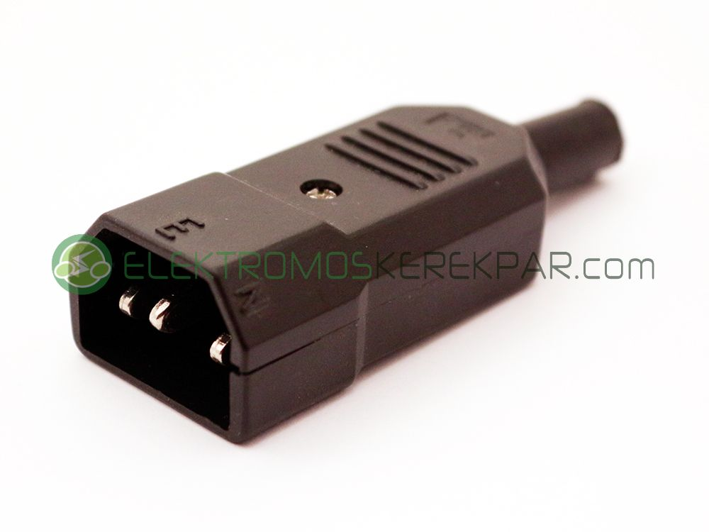 (3P) elektromos kerékpár töltő aljzat (lengő)