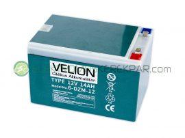 Elektromos kerékpár akkumulátor 6-dzm-12 12V 14Ah teljes választékban (CK106211) - 06705125161
