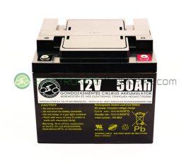 elektromos kerekesszék akkumulátor 12V 50AH (CK106404) -  06705125161