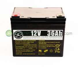elektromos kerekesszék akkumulátor 12V 36AH (CK178895) - 06705125161
