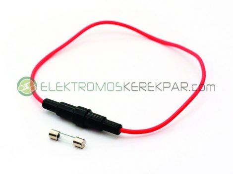 Biztosité kelektromos kerékpárhoz hengeres (CK287521) - 06705125161