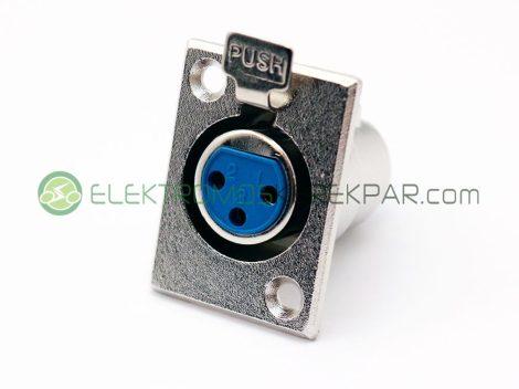 Elektromos kerékpár töltő aljzat  (XLR) dugóhoz (CK303694) - 06705125161