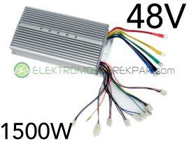48v 1500W UNI HALL jeladós elektromos kerékpár vezérlő elektronika (CK388445) - 06705125161
