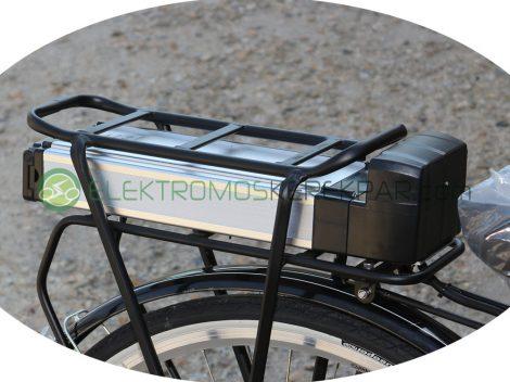 36V 16Ah Li-ion Akkumulátor csomagtartóval, elektromos kerékpárhoz CK443900