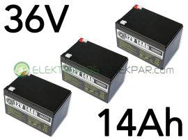 Elektromos kerékpár akkumulátor 6-dzm-10 12V 14Ah teljes választékban (CK522099) - 06705125161