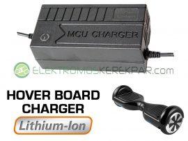 Hoverboard akkutöltő 36V Li-ion akkumulátorhoz