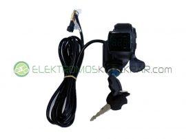 elektromos kerékpár gázkar (CK601624) - 06705125161