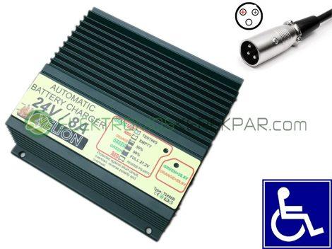 Elektromos kerekesszék töltő 24V 8A (CK630334) - 06705125161