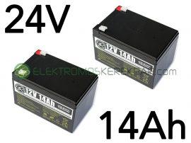 Elektromos kerékpár akkumulátor 6-dzm-14 12V 14Ah teljes választékban (CK736713) - 06705125161