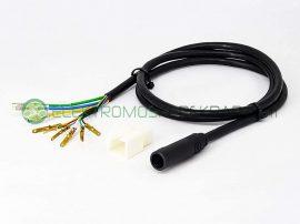 Elektromos kerékpár motorvezérlő vezeték (CK756078) - 06705125161
