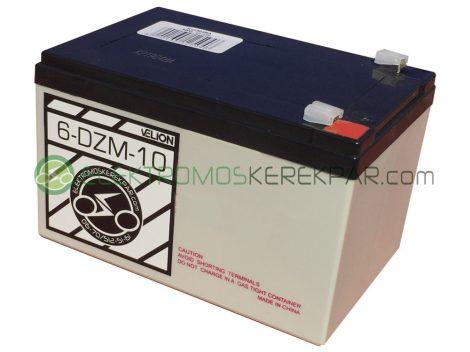 Elektromos kerékpár akkumulátor 6-dzm-10 12V 12Ah ( CK801231) -  06705125161