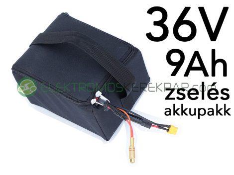 36V 9Ah zselés akkumulátor (PEDELEC) - CK847057 - 06705125161