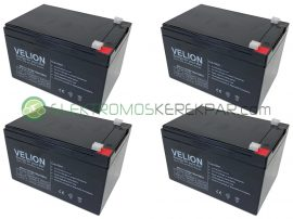 Elektromos kerékpár akkumulátor 6-dzm-10 12V 12Ah akció (CK878474) - 06705125161