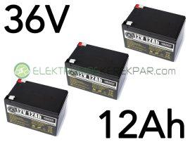 elektromos kerékpár akkumulátor 6-dzm-12 12V 12Ah teljes választékban (CK891246) - 06705125161