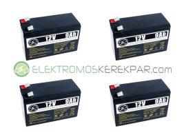 Elektromos kerékpár akkumulátor 6-dzm-9 12V 9Ah (CK919488) -  06705125161