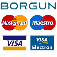 Online credit card payment.